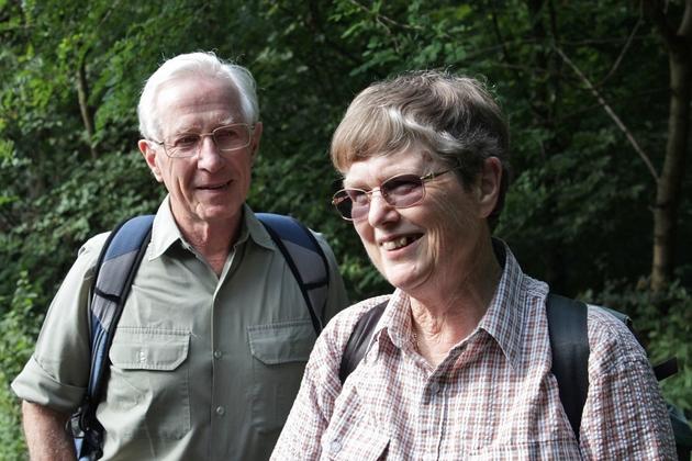 Die australischen Zoologen David und Meredith Happold Foto © J. Decher 2015