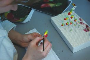 Modellierung Regenwald-Blüten