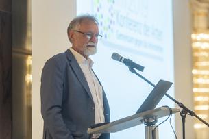 Prof. Dr. J. W. Wägele eröffnet die Konferenz der Arten 2019 in Bonn