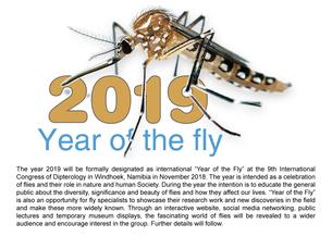 -2019 Year of the Fly Ankündigung