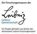 Logo Aktiosnplan der acht Leibniz-Forschungsmuseen